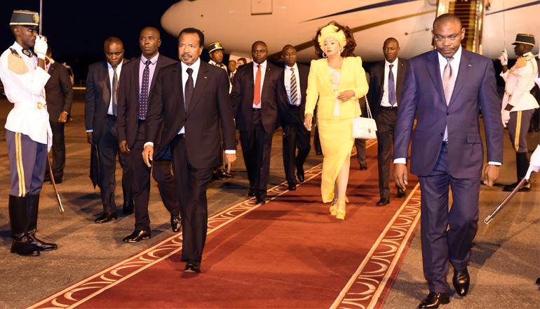 Cameroun,Cameroon : Le président Paul Biya de retour à Yaoundé