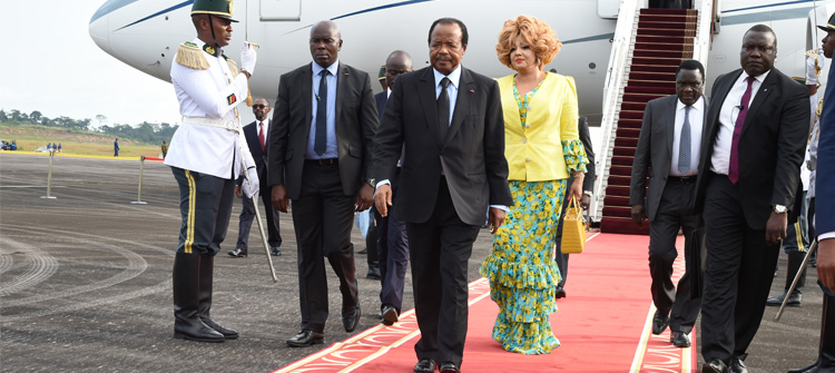 Presidential Couple Back in Cameroon