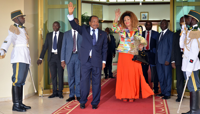 Presidential Couple return from private visit