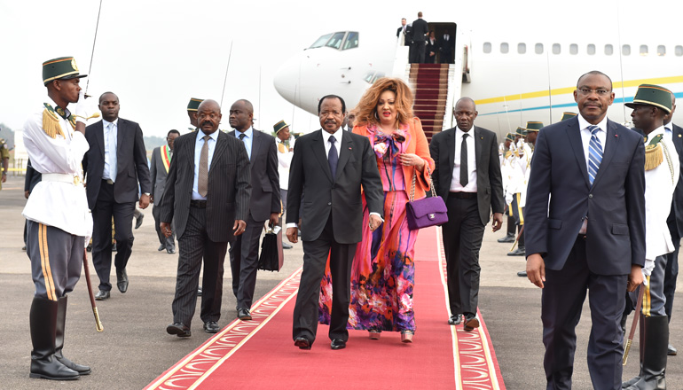 President Paul BIYA returns home after private visit to Europe