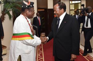 Paul et Chantal Biya sont de retour au Cameroun