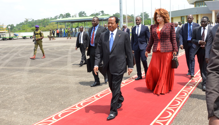 Image result for photos of Cameroon's presidential couple