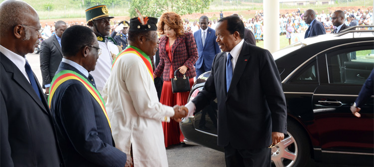 Cameroon's Presidential Couple Travels to Italy