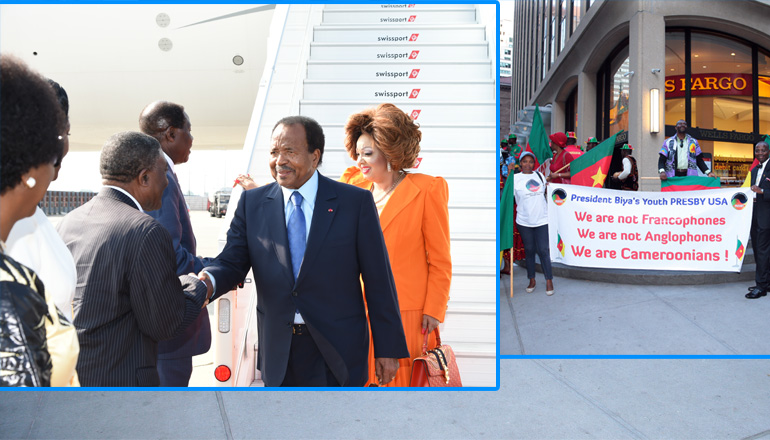 Presidential Couple in New York for the UN General Assembly