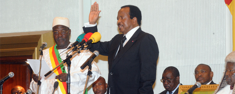 Inaugural speech by H.E. Paul BIYA, President-elect of the Republic of Cameroon on the occasion of the swearing-in ceremony before the National Assembly