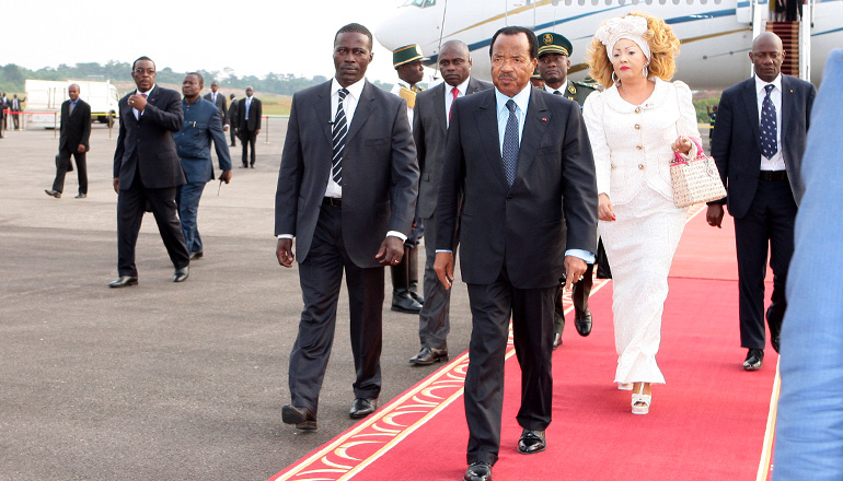 Presidential Couple return from Dakar