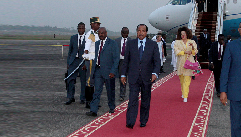 Presidential Couple back home after attending COP21