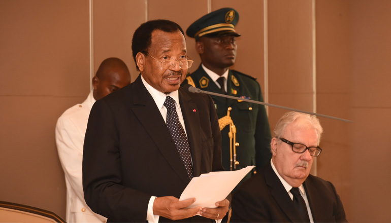 Toast by the Head of State during the Luncheon at the Unity Palace on the occasion of the official visit of Michaëlle Jean, Secretary-General of the International Organization of la Francophonie