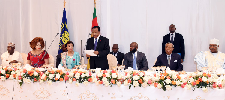 Toast by H.E. Paul BIYA, on the occasion of the State Luncheon given in honour of the Rt Hon Patricia SCOTLAND QC, Secretary-General of the Commonwealth.