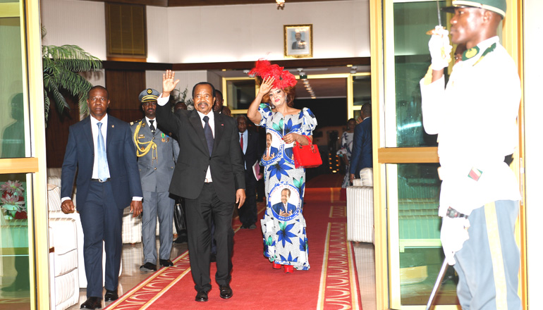 Presidential Couple Back from Maroua