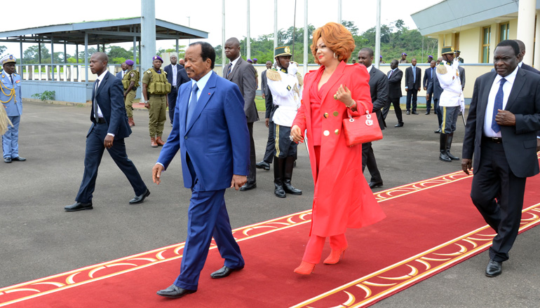 President BIYA on his way to Beijing