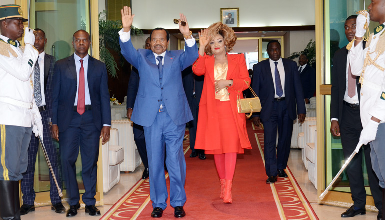 President BIYA returns to Yaounde after Successful State visit in China