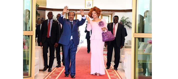 President BIYA and Wife Back Home from Europe